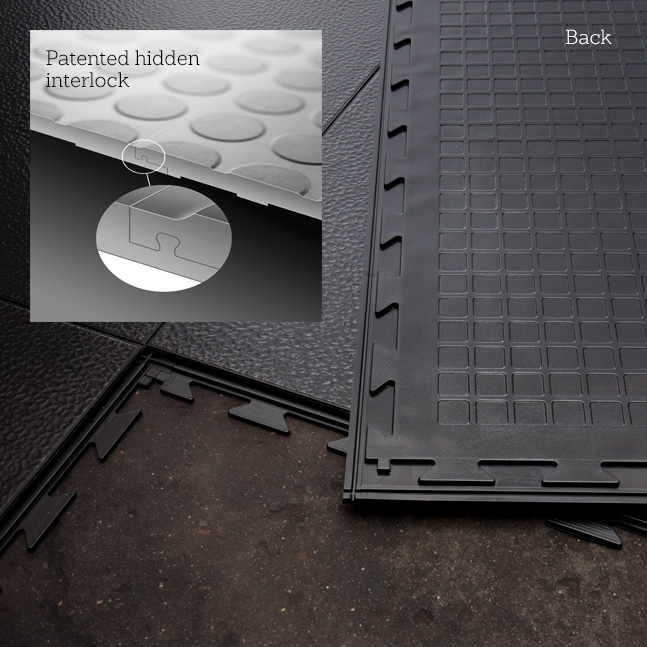When you need tough, easy to install, commercial flooring