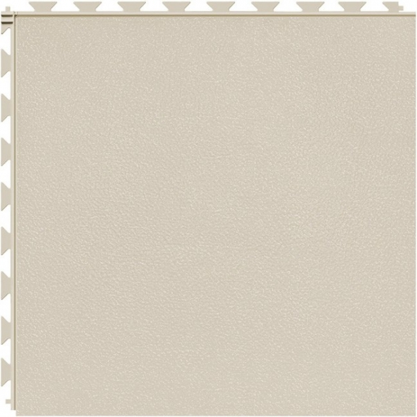 Tuff Seal Hidden Interlock Vinyl Floor Tile, Color: Canvas, Pattern: Smooth
