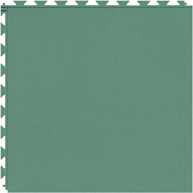 Tuff Seal Hidden Interlock Vinyl Floor Tile, Color: Meadow, Pattern: Smooth