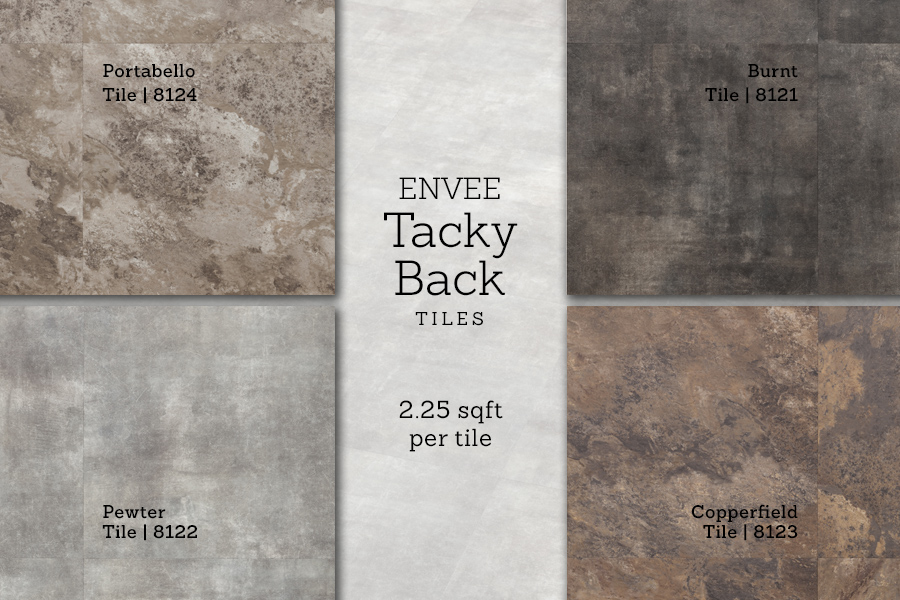 ENVEE Tacky Back Tile - Advanta Flooring