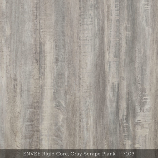ENVEE Rigid Core, Gray Scrape Plank