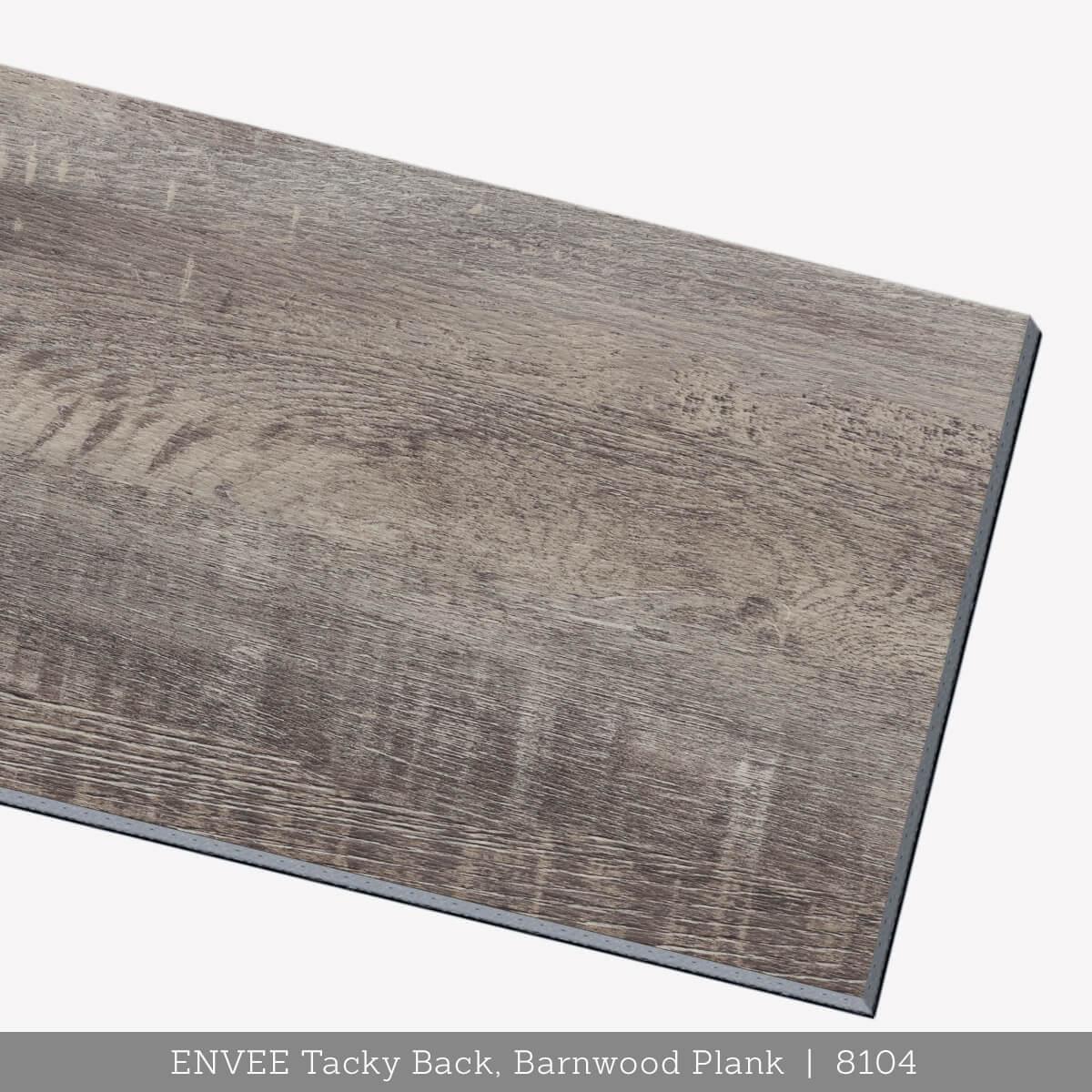 Envee Tacky Back, Barnwood Plank