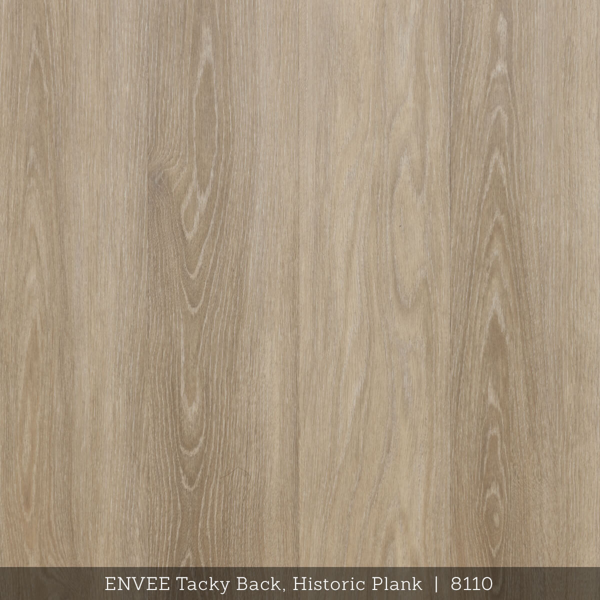 Envee Tacky Back, Historic Plank