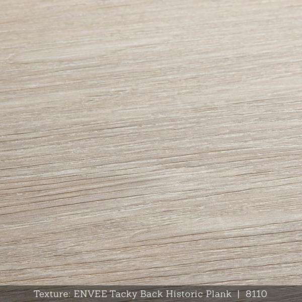 Envee Tacky Back, Historic Plank
