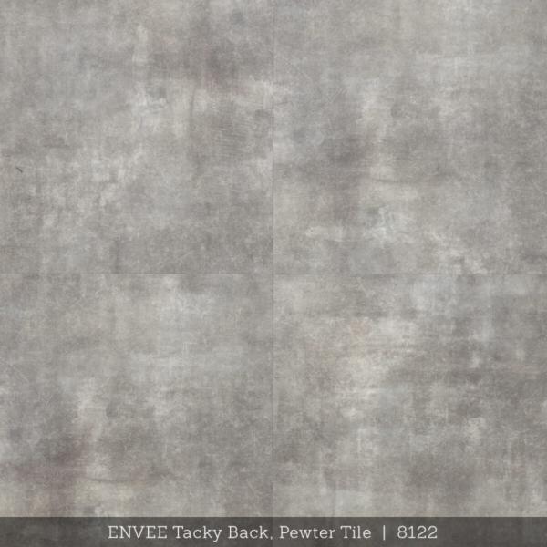 Envee Tacky Back, Pewter Tile
