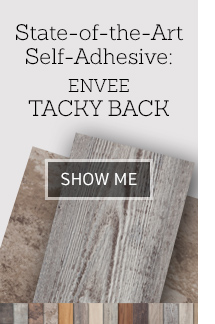 State of the Art Self Adhesive ENVEE Tacky Back